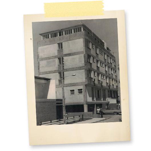 História Hotel Melo