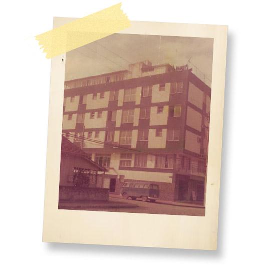 Hotel Melo História
